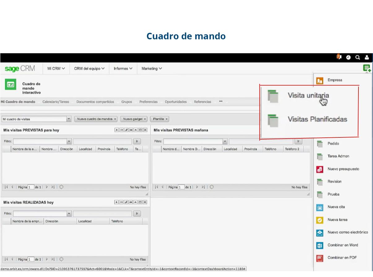 Software de gestión de gastos - cuadro de mandos